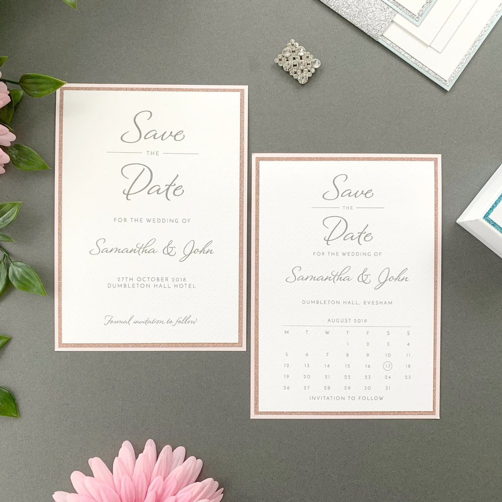 Nyx Save The Date Card
