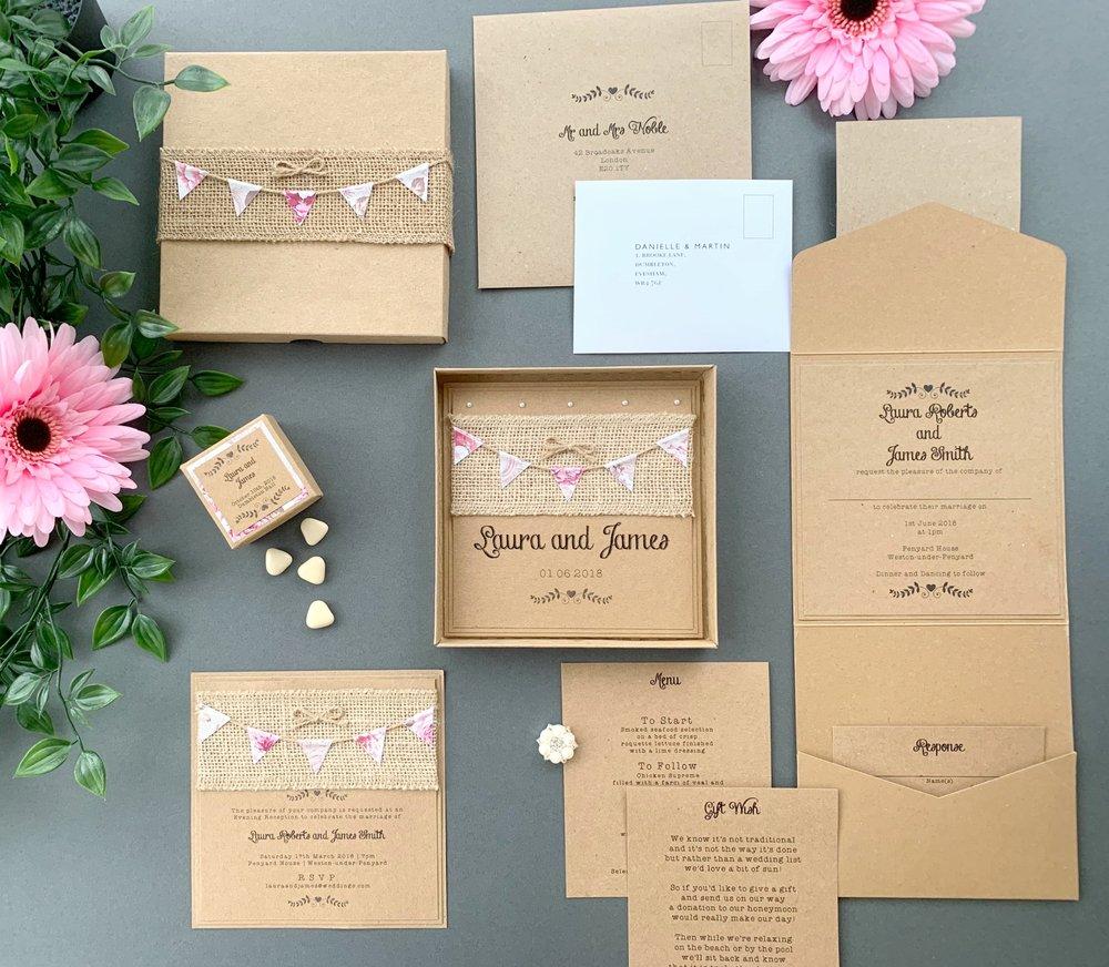 Aurora Invitation Collection