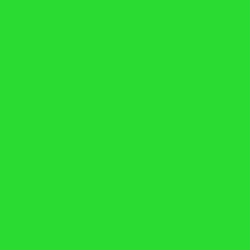37. Crayon Green