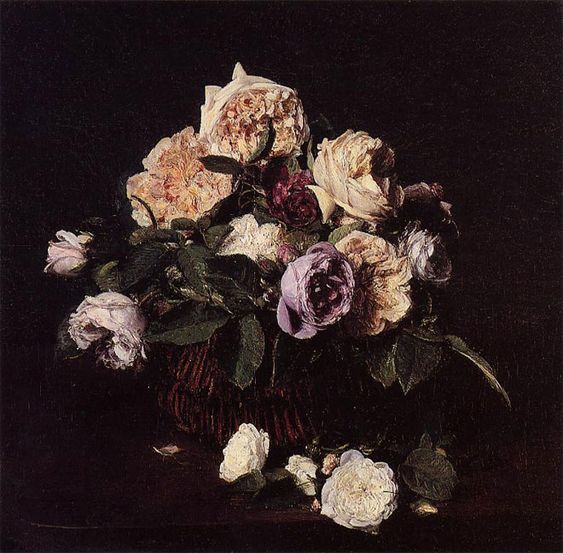 """""""Vase de Fleurs"""" , Henri Fantin-Latour, 1876"""