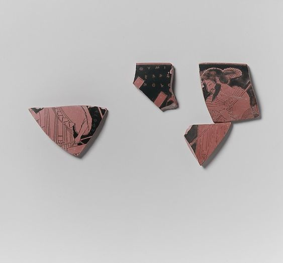 Roman pottery shards