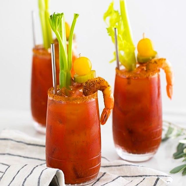 Wishing it was still the weekend... #bloodymarybar #drinkyourbrunch #brunchcatering #cltcatering #cateringclt #frcustomcatering