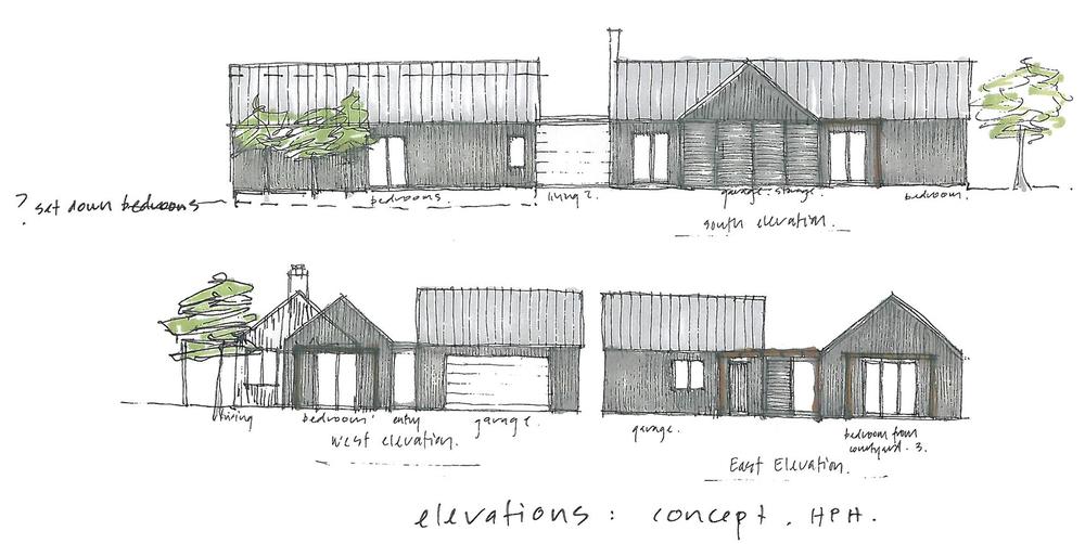 Sketch: Anne Salmond Architecture