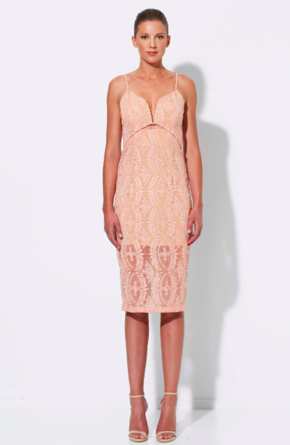 Winona Mid Summer 3/4 dress in Pink $239.95 AUD