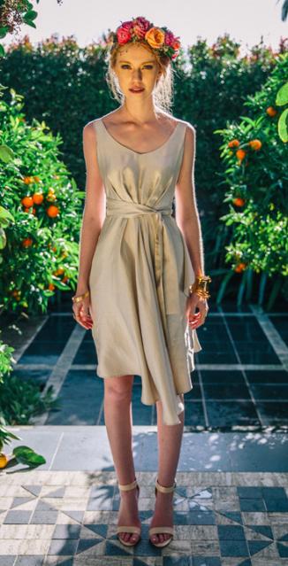 Victor Bridesmaid Violet Dress $395.00 NZD