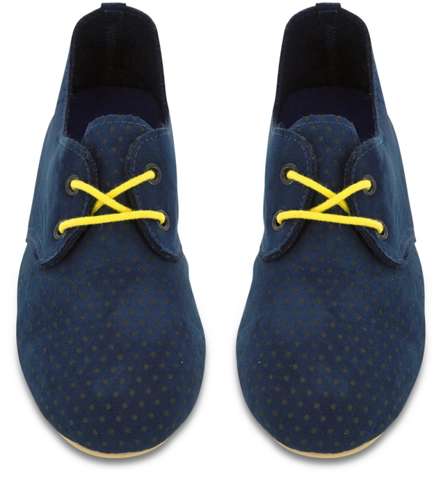 Billybandit Blue Suede Shoe $69.00