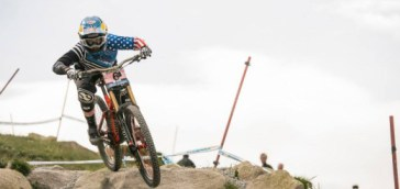 Jill @ Fort William World Cup