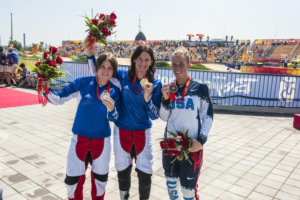 Laëtitia Le Corguillé, Anne Caroline Chausson, Jill Kintner