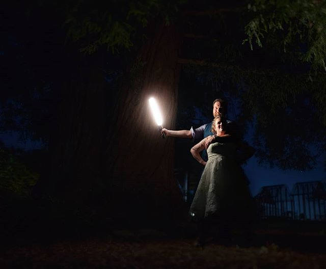 By the light of the lightsaber... . . May the 4th be with you! Katie & Jason had an amazing star wars and comic book inspired day. Thanks for having us celebrate with you! . . Make sure your photos are as amazing as you are! Book us for your wedding, or just get some awesome portraits. .  #portlandweddingphotographer#weddingphotography #wedding #bride #weddingphotographer #weddingday #weddingdress #photography #love #weddinginspiration #groom  #weddings #photographer  #instawedding #photooftheday #weddinginspo #weddingmakeup #weddingplanning #photoshoot #couple #bridal #mauiweddingphotographer #atmosphereareosol #tampaweddingphotographer #starwars #maythe4thbewithyou #lightsabers #jedi