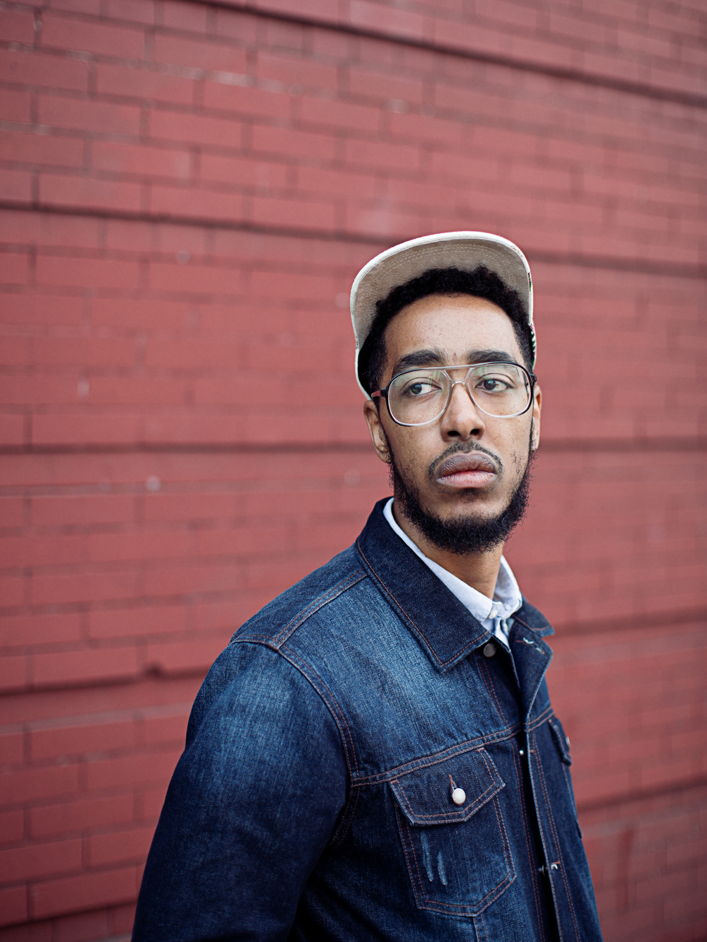 Rapper Oddisee in Bedford Styvesant, Brooklyn.