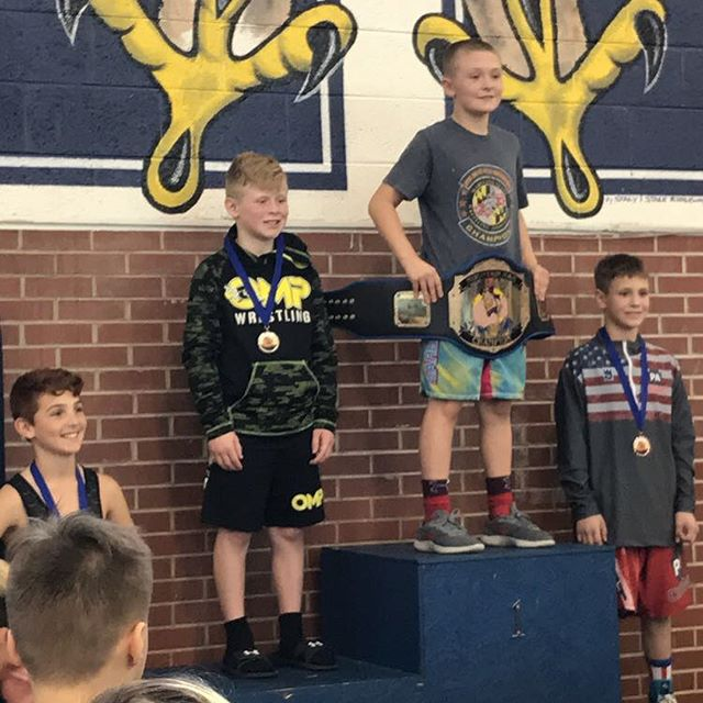4 OMP wrestlers made the Mountain Man Individual finals! Mac Miller and Chase Karenbauer finish 2nd! Vaughn Spencer and Liam Volk-Klos take home the belt! Elementary and Middle School dual tomorrow!