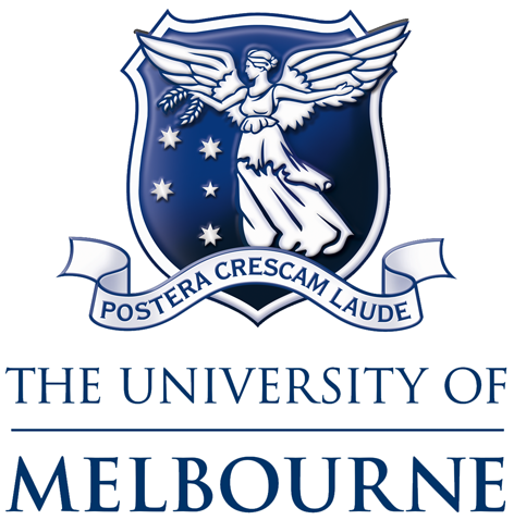 Uni of Melbourne on white logo.png