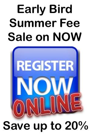 Early Bird Summer Fee Sale On Now !!