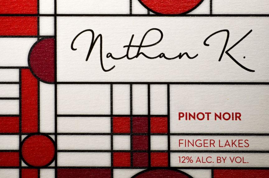 Nathan Kendall 2016 Pinot Noir