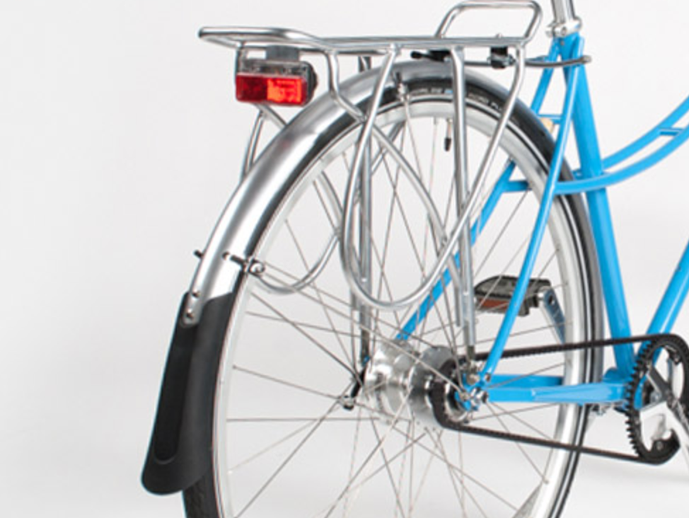 Important Accessories Standard:  Including Rear Rack and fenders