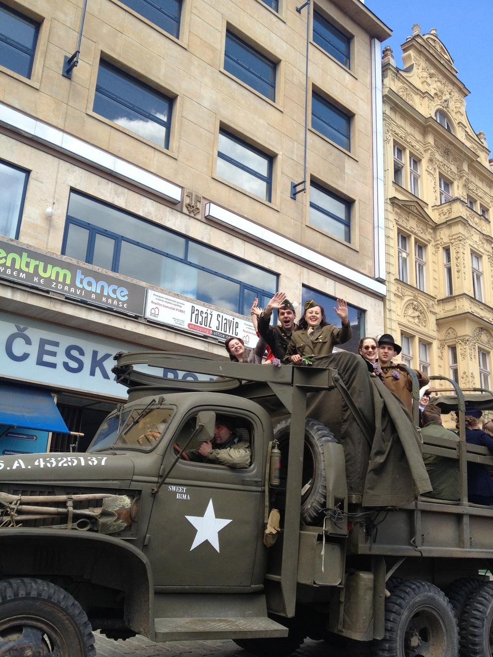 Pilsen, Czech Republic Liberation Festival Freedom Convoy