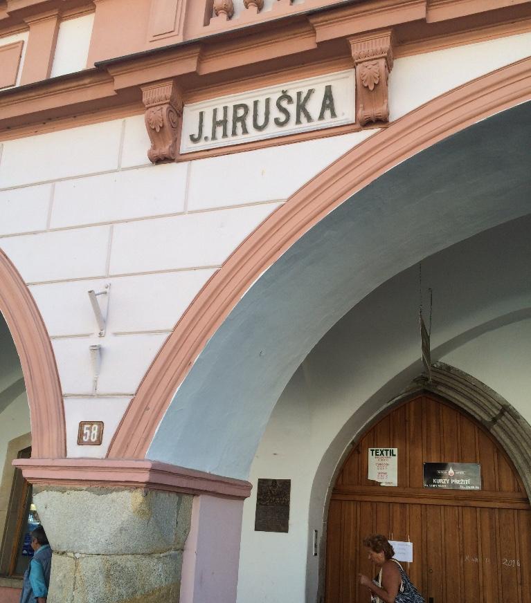 Hruska Building, Domazlice Main Square