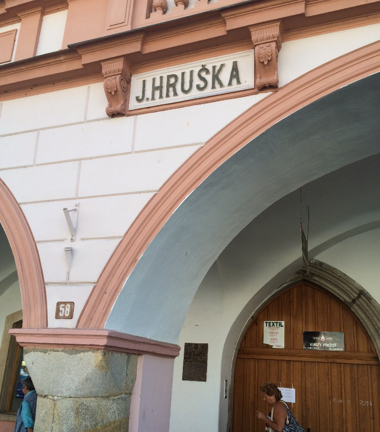Hruska Building, Domazlice, Czech Republic, Main Square