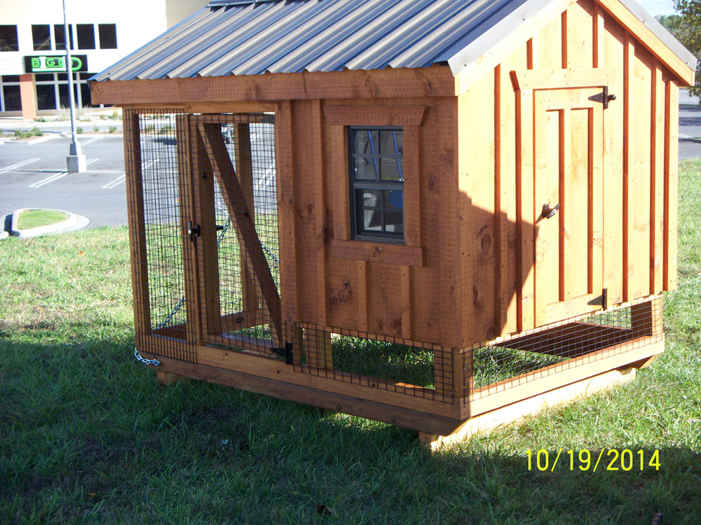 chicken coop builder