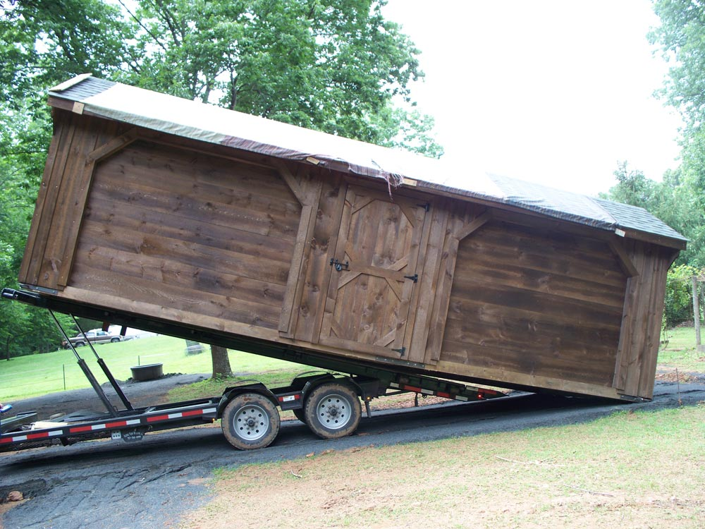 custom built barn
