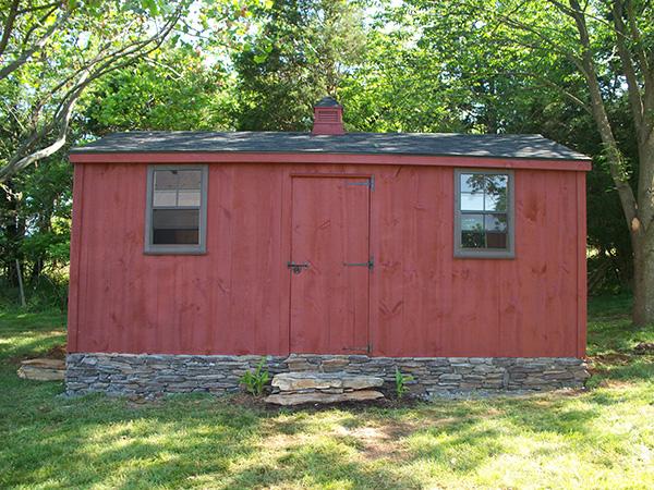 custom built shed shenandoah sheds