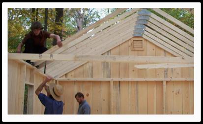 custom built barns