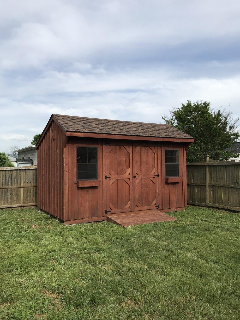 amish made sheds