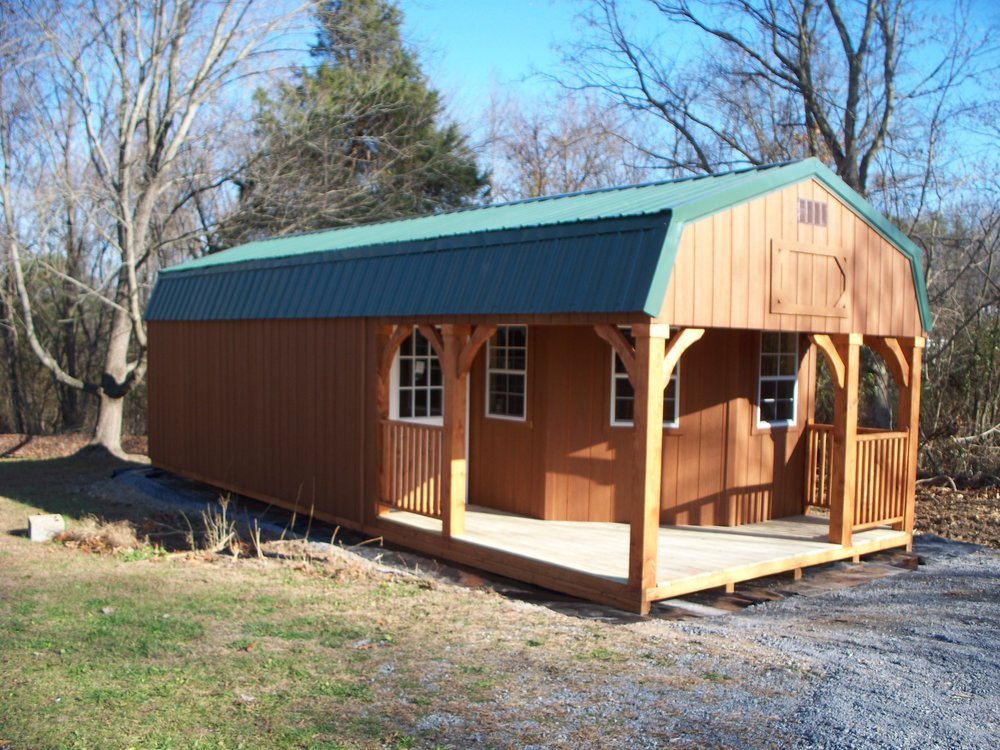 tiny home builder shenandoah sheds