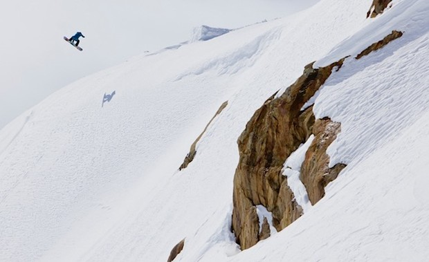 Safety First, even when it comes to big spins in the Whistler backcountry. Ben Girard Photo