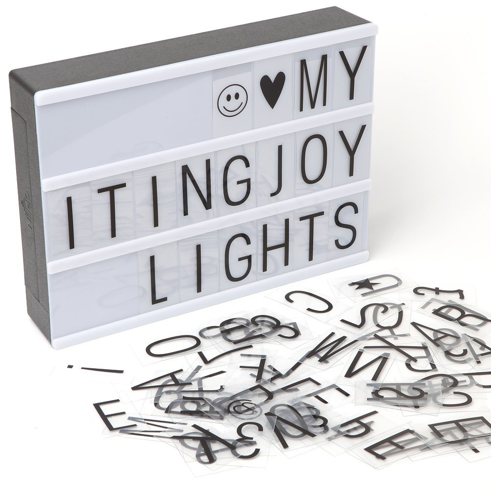 ItingJOY Cinematic Light Box Regularly $19.99 NOW $15.99