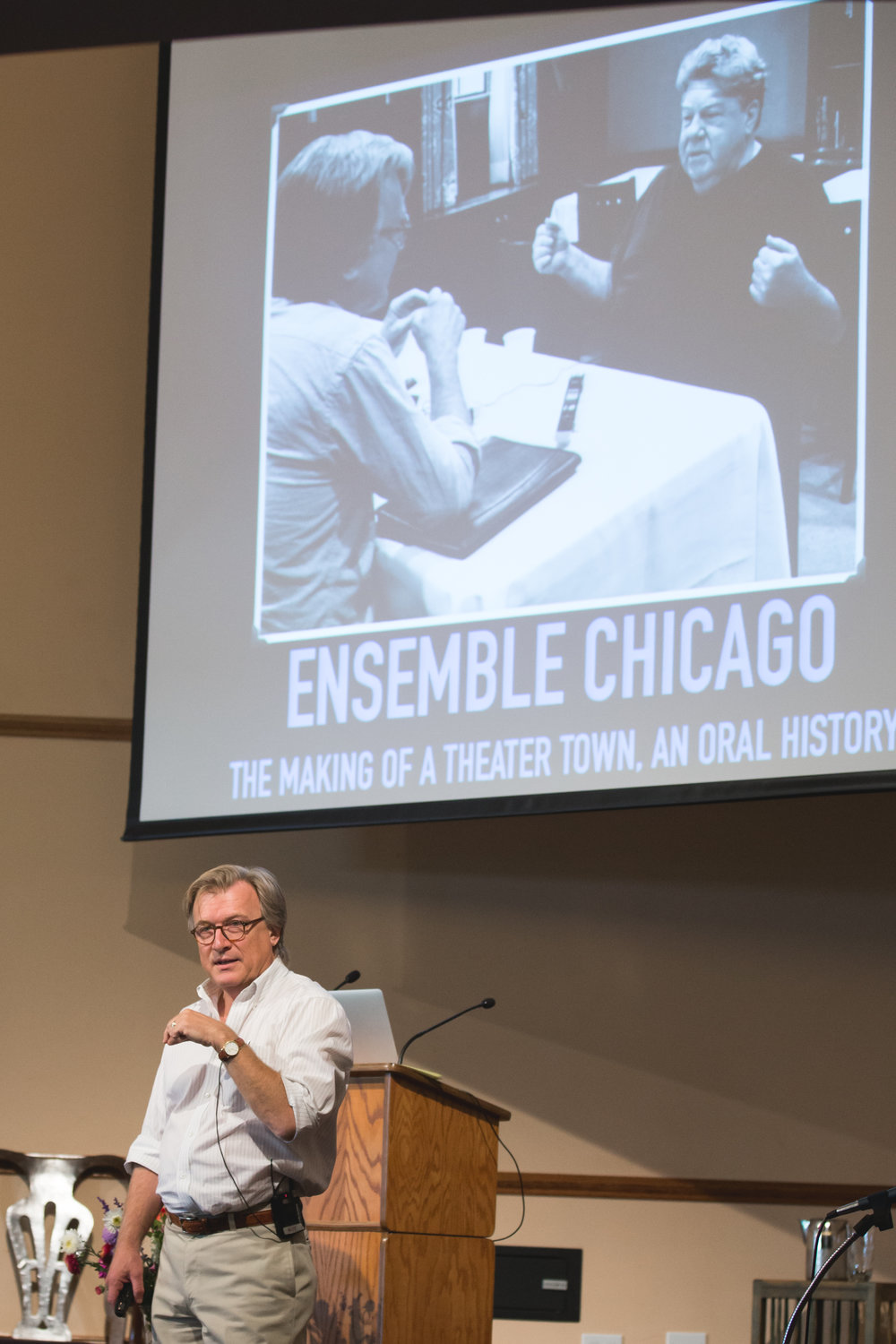 Mark Larson, author,   Ensemble Chicago: The Making of a Theater Town, An Oral History
