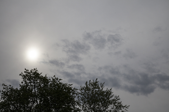 Altostratus with Alocumulus in foreground