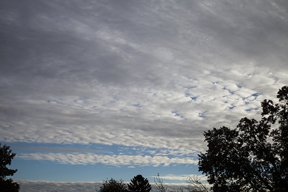 Altocumulus and Altostratus photo by Craig Johnson