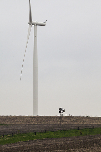 Wind power Then and Now: Photo Copyright 2018 Craig Johnson, Weather Briefing L..C.