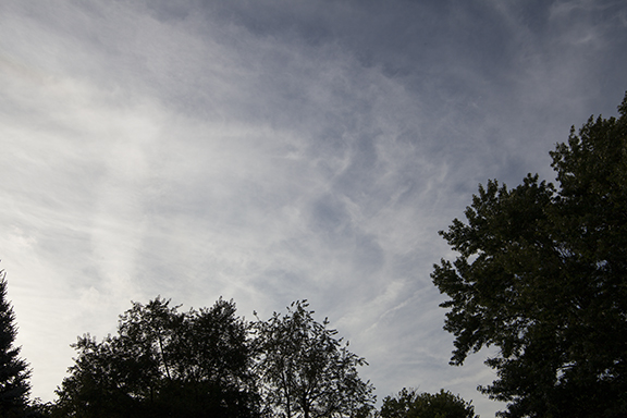 Cirrostratus. September 24, 2018 at Cedar Falls, Iowa
