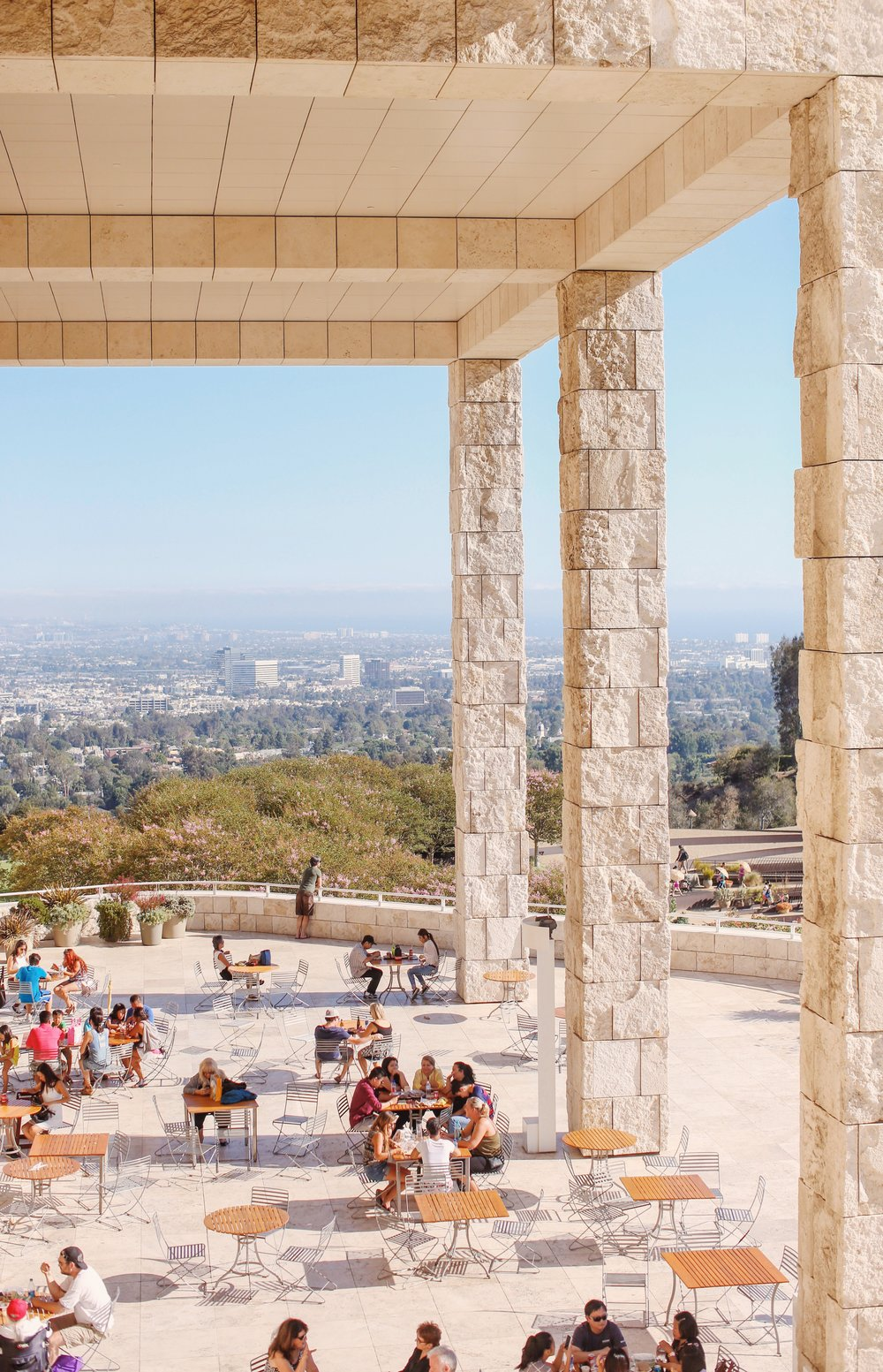 Getty Museum, Los Angeles, California  August 2016
