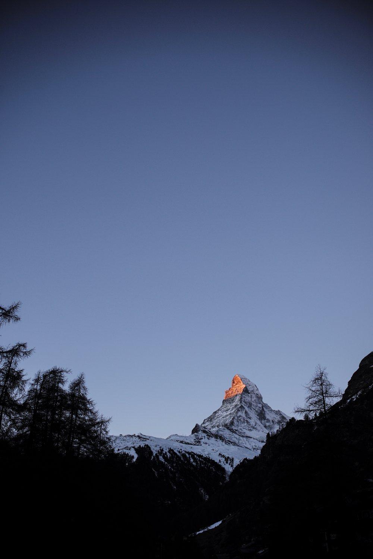 Zermatt, Switzerland  December 2016