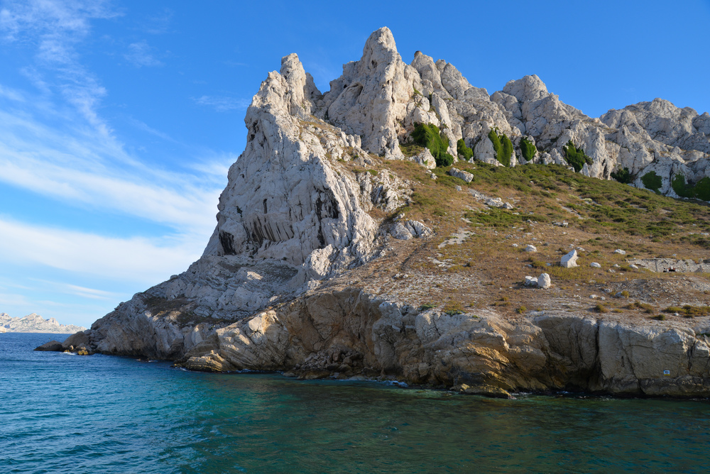 Les Calanques in Marseille, France