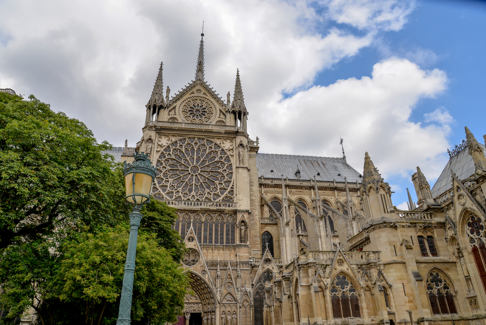 """Notre Dame de Paris"" in Paris, France"