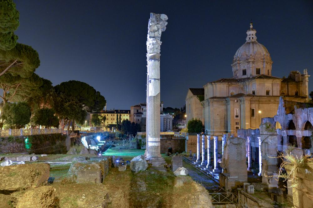Il Foro Romano in Rome, Italy