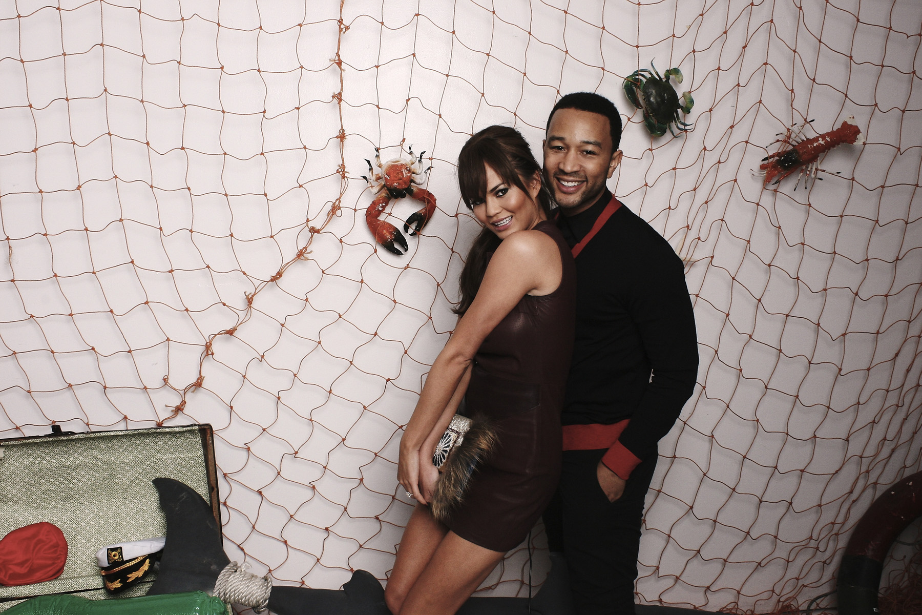 New York Photo Booth Chef Roble Crabtacular for Chrissy Tiegen and John Legend