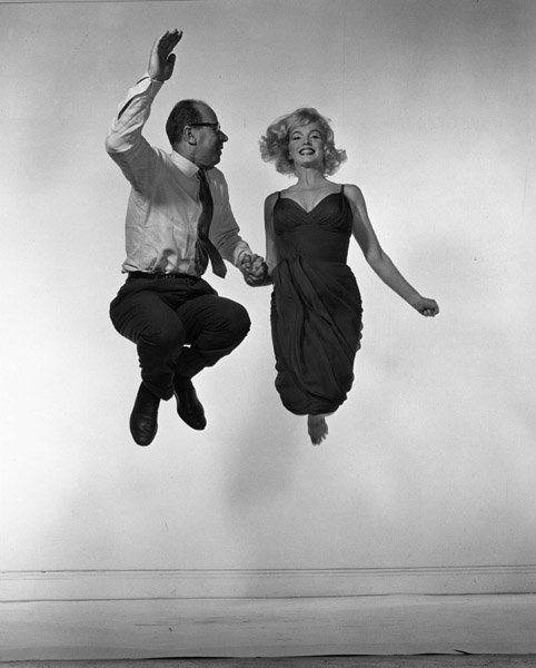 Philippe Halsman and Marilyn Monroe 1954 jump book
