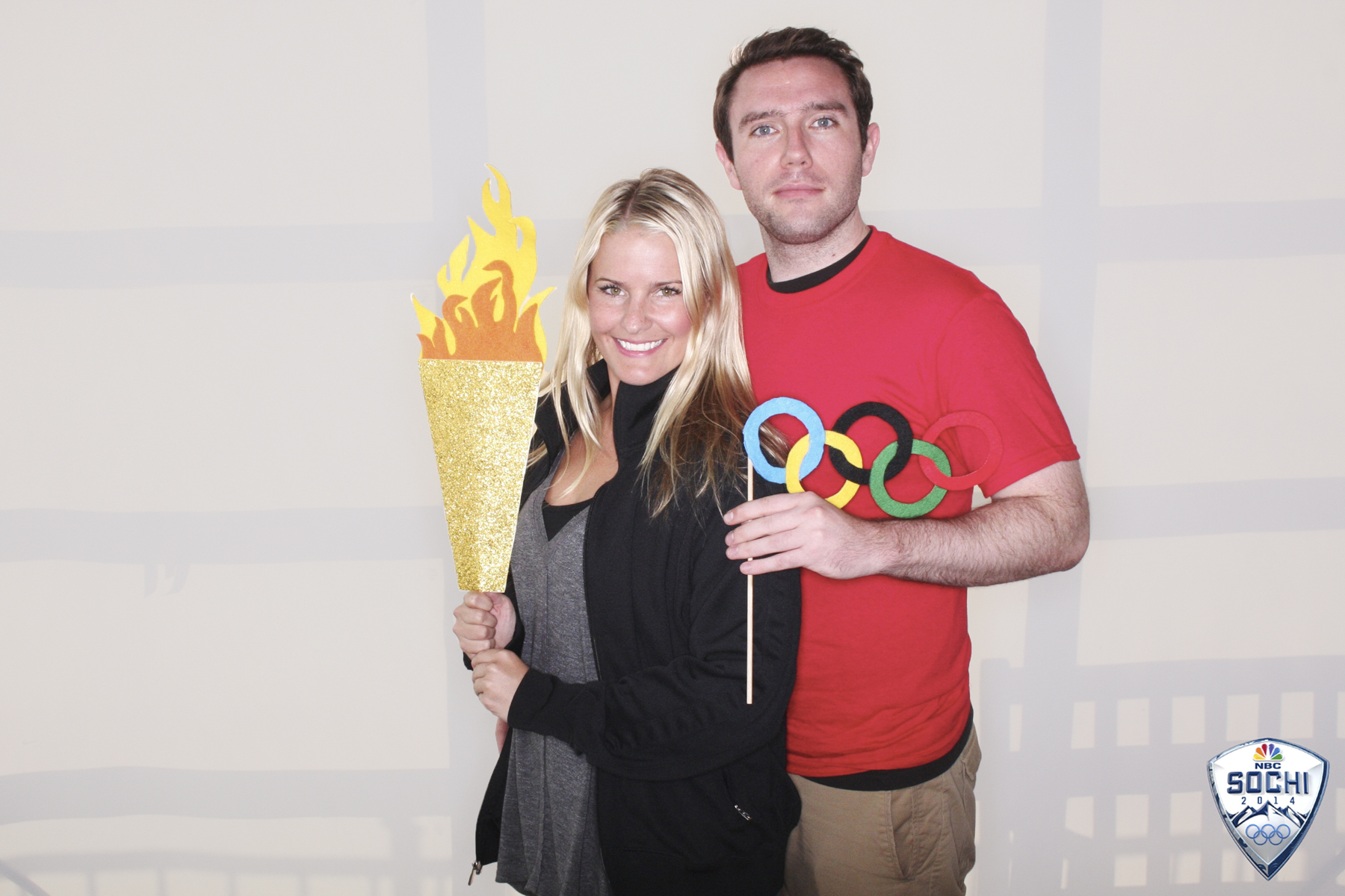 NBC Winter Olympics torch