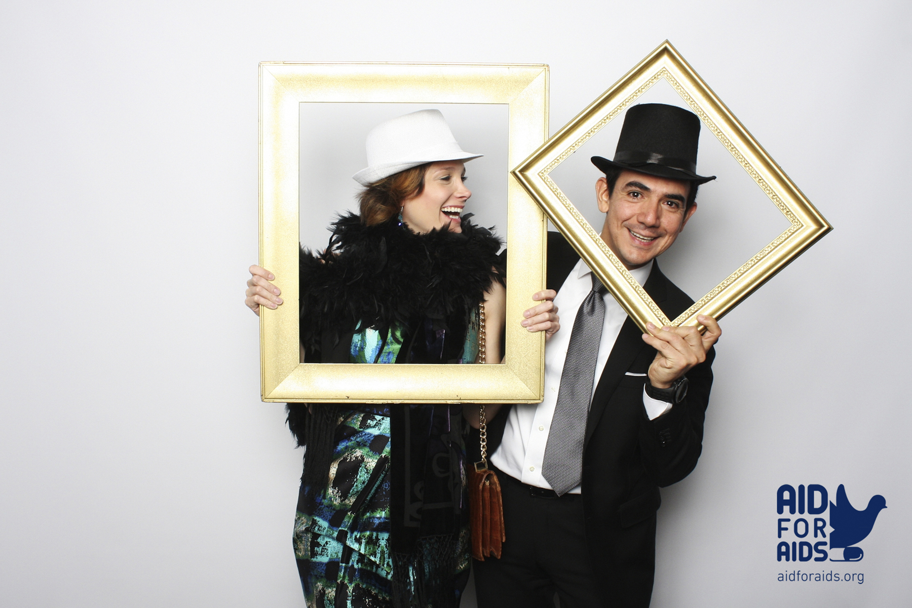 New York Photobooth aid for aids hero gala
