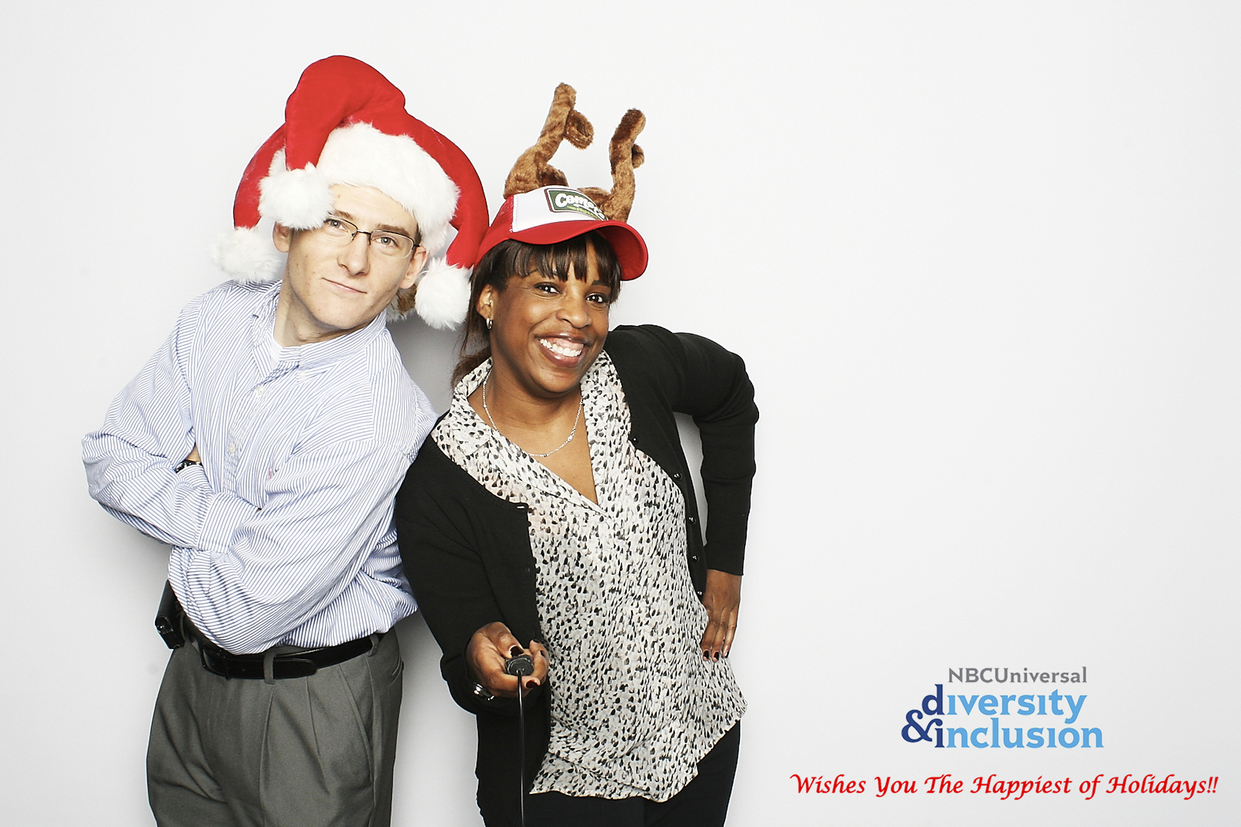 NBC Unidos Holiday Photobooth New York