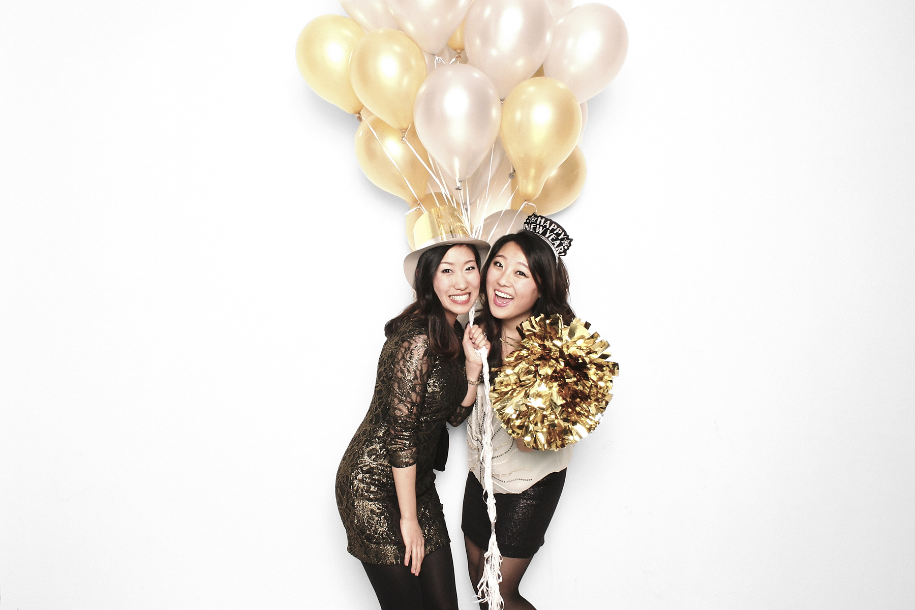 happy new year photo booth new york