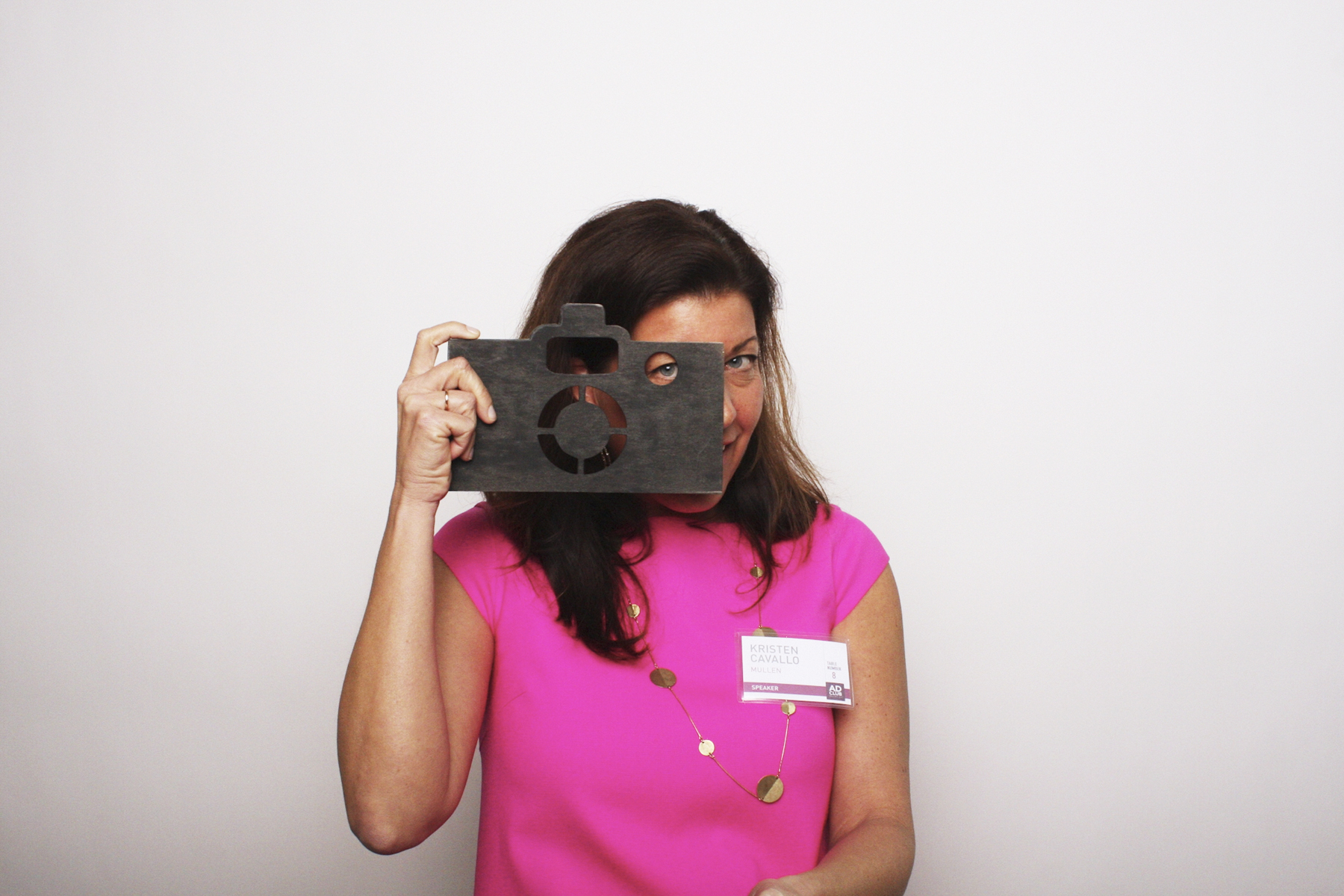 Photo booth for corporate event