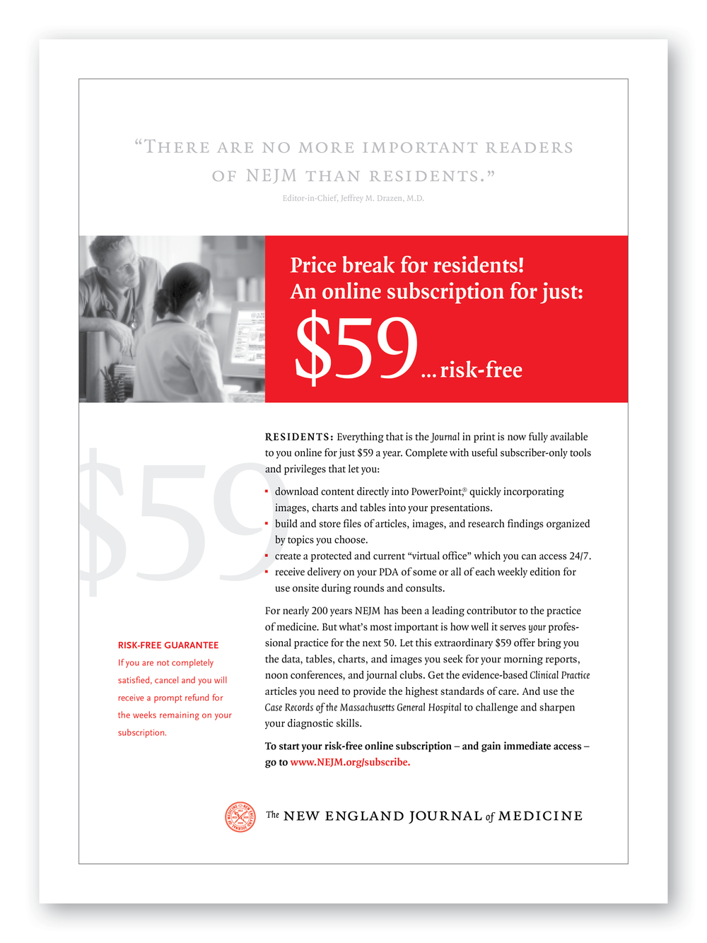 NEJM Residents Ad