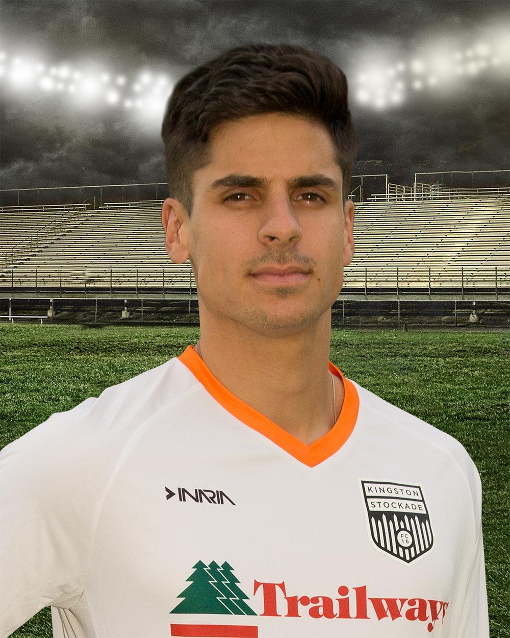 #13 Pedro Espindola (F)<br>(UAlbany)<br>Sao Paulo, Brazil