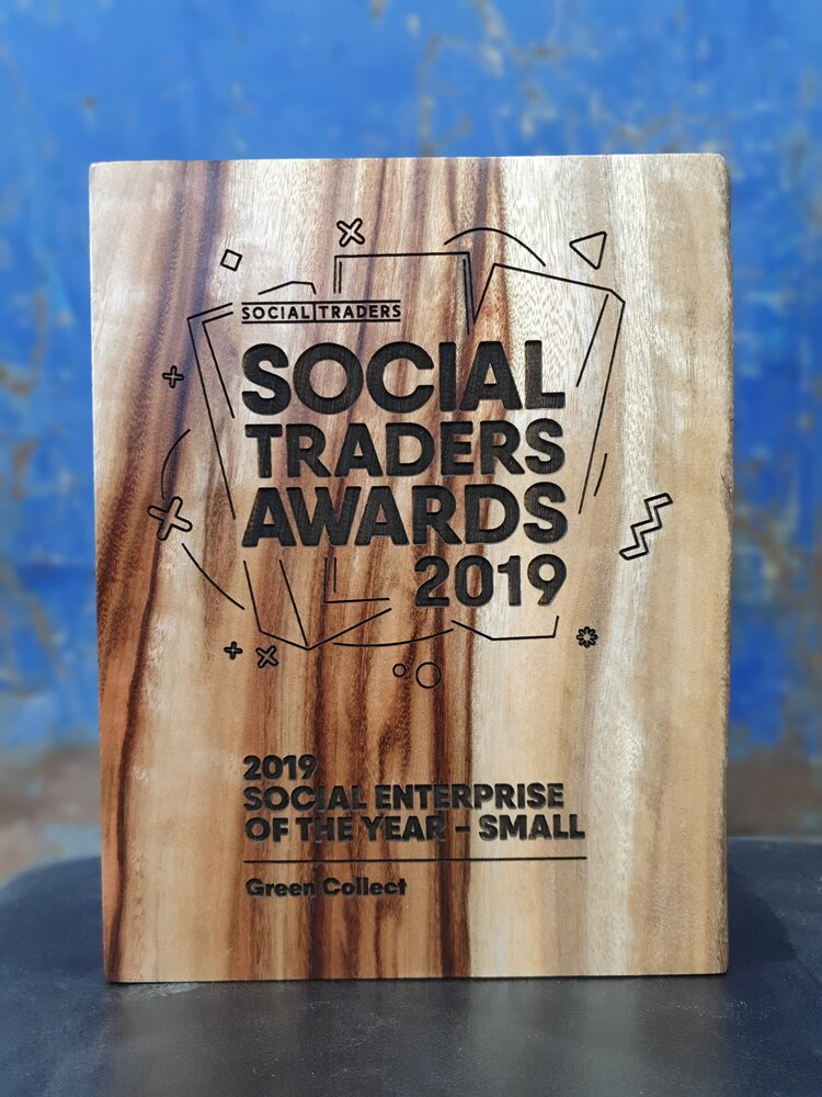 The Social Enterprise of the Year award recognises Green Collects achievements in generating positive social and environmental impact.